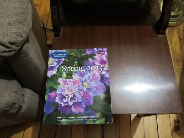 January catalogs!