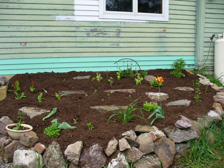 2007 newly built and planted and mulched