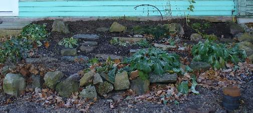 The same garden in 2009