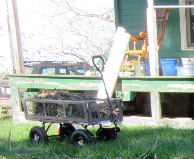 my new garden cart!