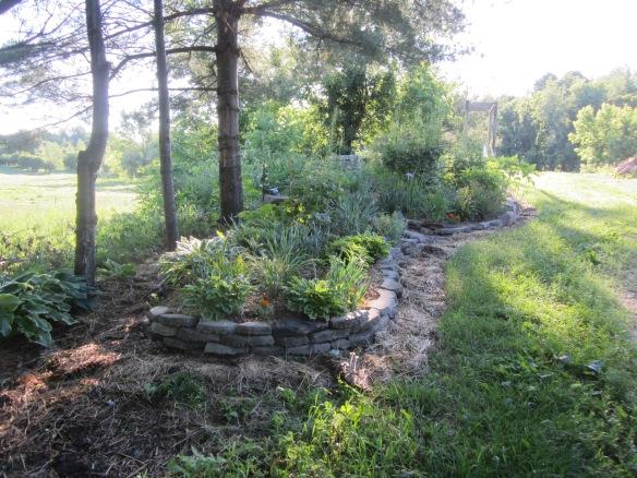 square garden edging