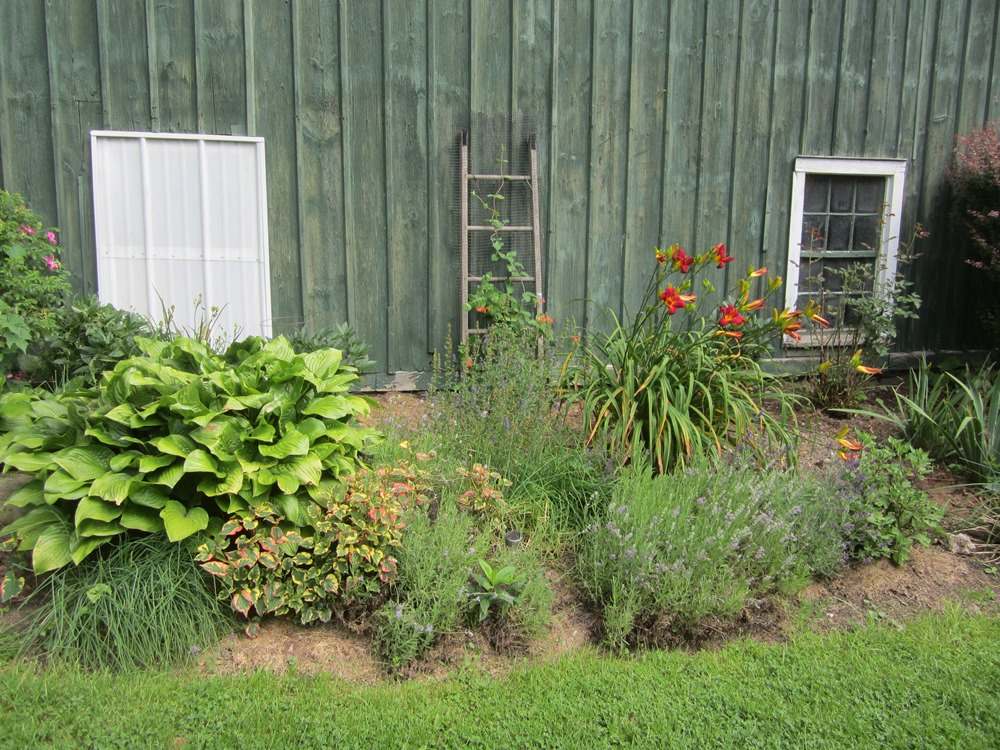 "the ""barn bed"" before renovation"