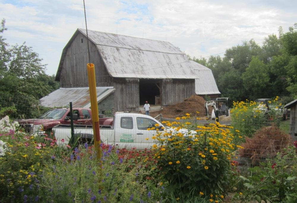 fixing the barn 1