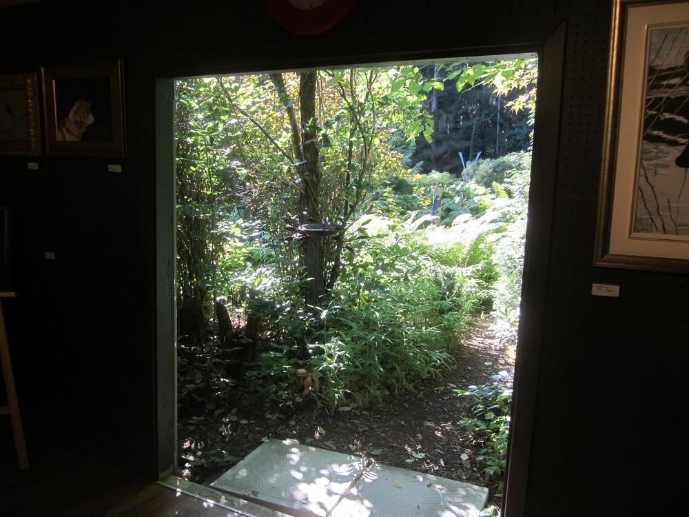 Rideau Ramble garden doorway
